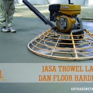 Jasa finish trowel