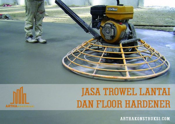 Jasa finish trowel
